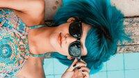 Wonderbaarlijk Blauwe haarverf; verf je haren eens blauw! UE-18