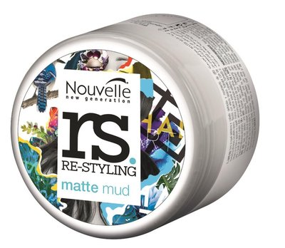 Nouvelle Re-Styling Matte Mud Paste NEW 100ml
