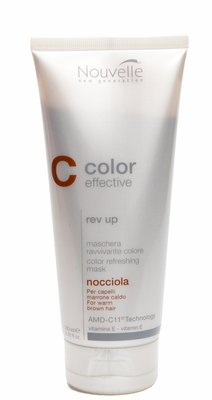Nouvelle ColorGlow Rev Up Nocciola 200ml Color Refreshing Mask