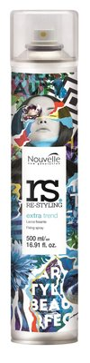 Nouvelle Re-Styling Extra Trend Haarlak Spray NEW 500ml