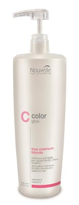 Nouvelle ColorGlow True Platinum Blonde Shampoo 1000ml