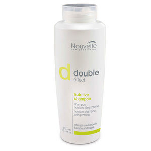 Nouvelle double Effect Nutritive Shampoo 300ml - Nouvelleshop.nl
